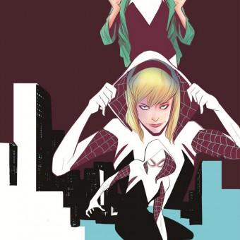 Gwen Stacy como a Mulher-Aranha e Gerard Way em novas revistas do Homem-Aranha