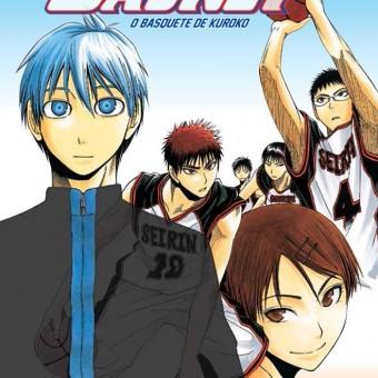 Panini divulga título nacional e capa do primeiro volume de Kuroko no Basket