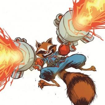 Encomendas da revista solo do Rocket Raccoon chega à números impressionantes