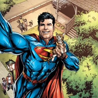 DC divulga mais capas com selfies dos seus personagens