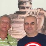 Faleceu o quadrinista Deodato Borges, criador do Flama
