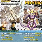 Henshin Mangá, antologia com mangás nacionais, será lançada na semana que vem