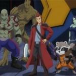 E esta é a versão anime de dos Guardiões da Galáxia