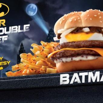 McDonald's de Hong Kong anuncia sanduíche temático do Batman