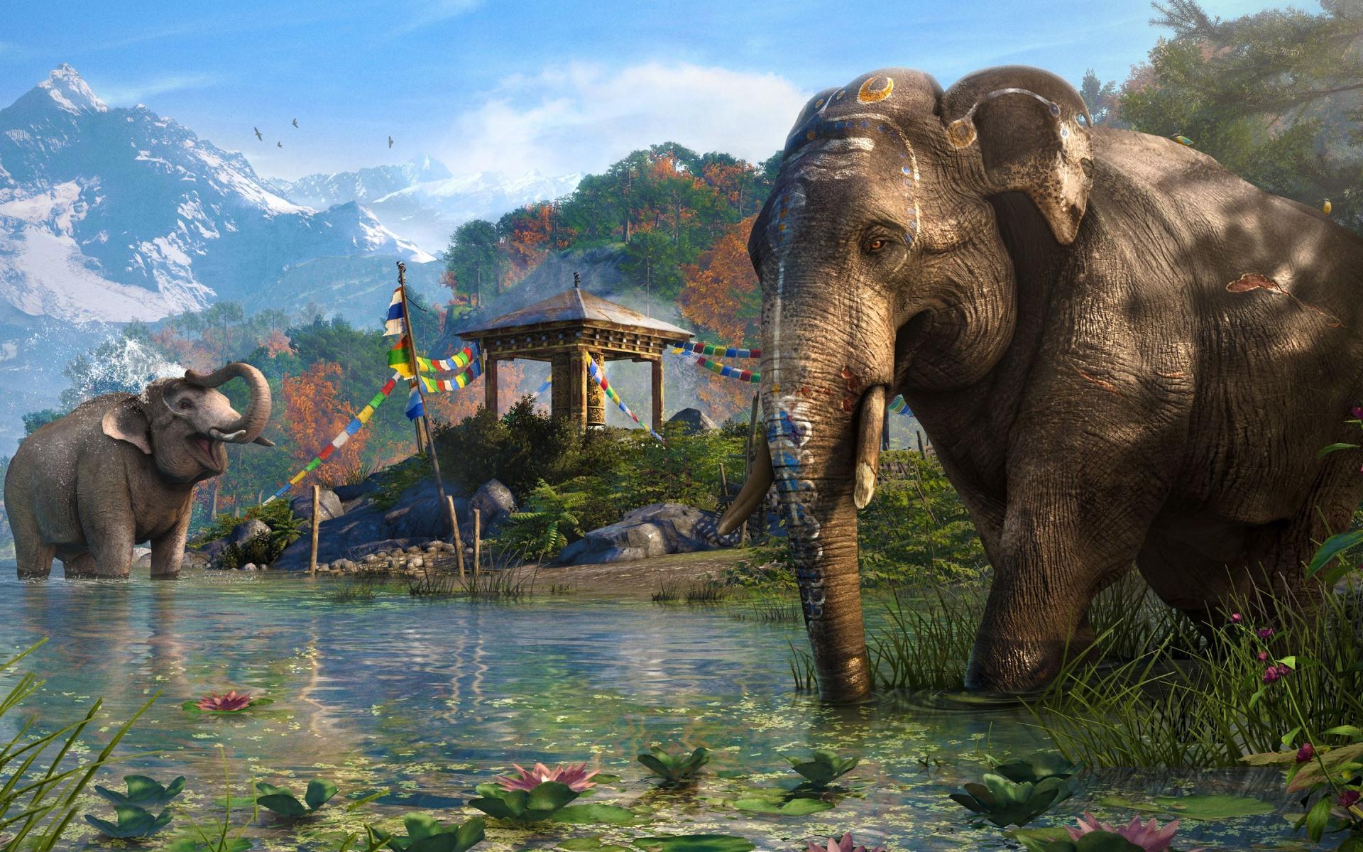Far Cry 4 Ubisoft espera que o jogo corra à 1080p e 30fps no PS4