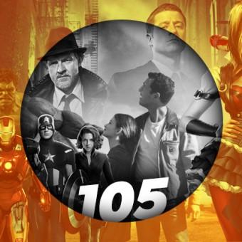 Podcast da Redação #105 – Curso da Marvel, maconha da DC e a estreia de Gotham