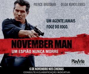 November Man - 6 de Novembro nos Cinemas