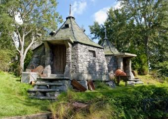 J.K. Rowling vai construir a Cabana do Hagrid no quintal de sua casa