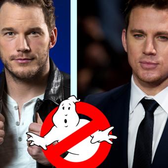 Um spin-off de Caça-Fantasmas com Chris Pratt e Channing Tatum está em desenvolvimento na Sony