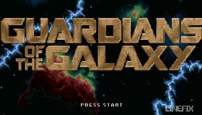 E se Os Guardiões da Galáxia fosse um jogo em 8 bits?