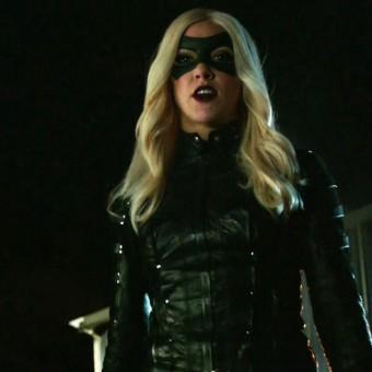 Laurel como Canário Negro na nova promo de Arrow
