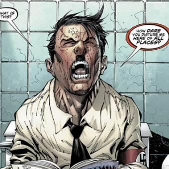 Hitler estava no banheiro quando o Superman se tornou nazista