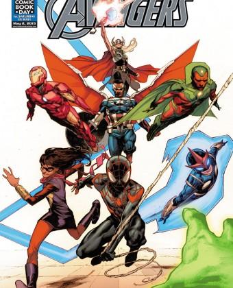 Marvel revela nova formação dos Vingadores nos quadrinhos