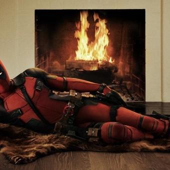 Veja a primeira imagem oficial do filme do Deadpool