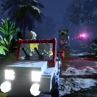 Veja o primeiro video de gameplay de LEGO Jurassic World