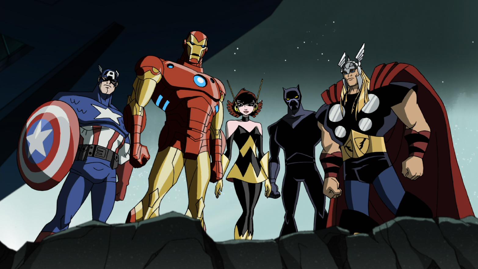 Universo Marvel filmes animados animação