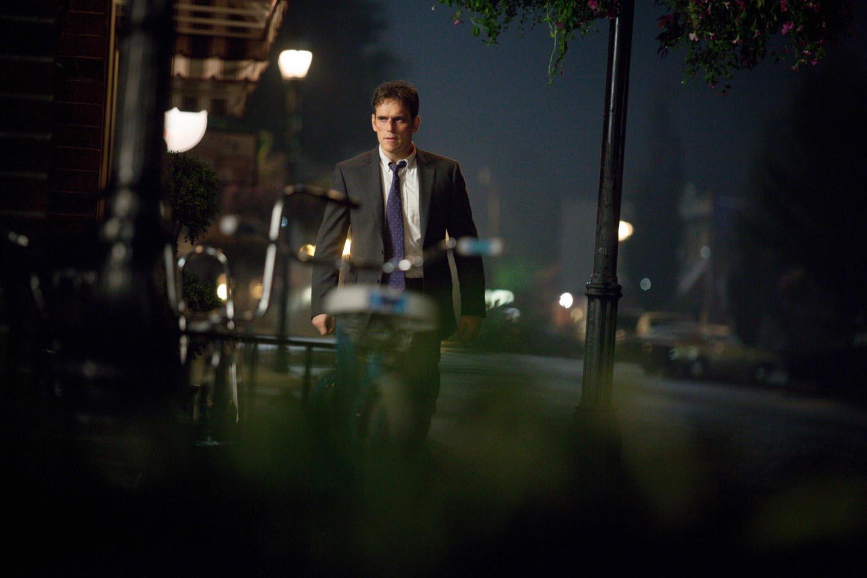 Matt Dillon como Ethan Burke em Wayward Pines / Imagem de Divulgação (@2014 Fox Broadcasting Co.  Cr:  Liane Hentscher/FOX)