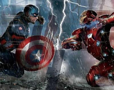 Capitão América: Guerra Civil ganha suposta arte conceitual