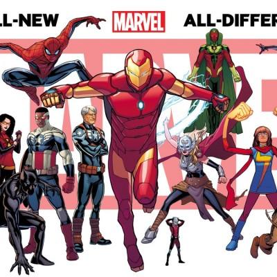 Mais de 50 novas séries e numeração zerada na Marvel a partir de Setembro
