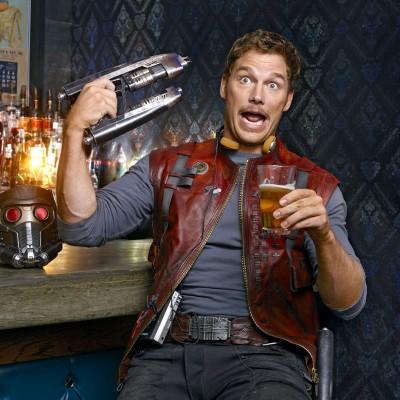 Chris Pratt diz que chorou com o roteiro de Guardiões da Galáxia 2