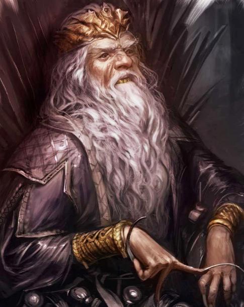 O famoso Rei Louco de Game of Thrones