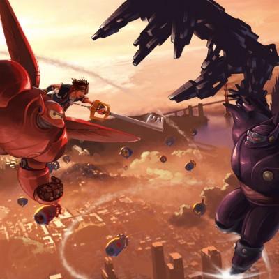Kingdom Hearts III terá mundo baseado em Operação Big Hero