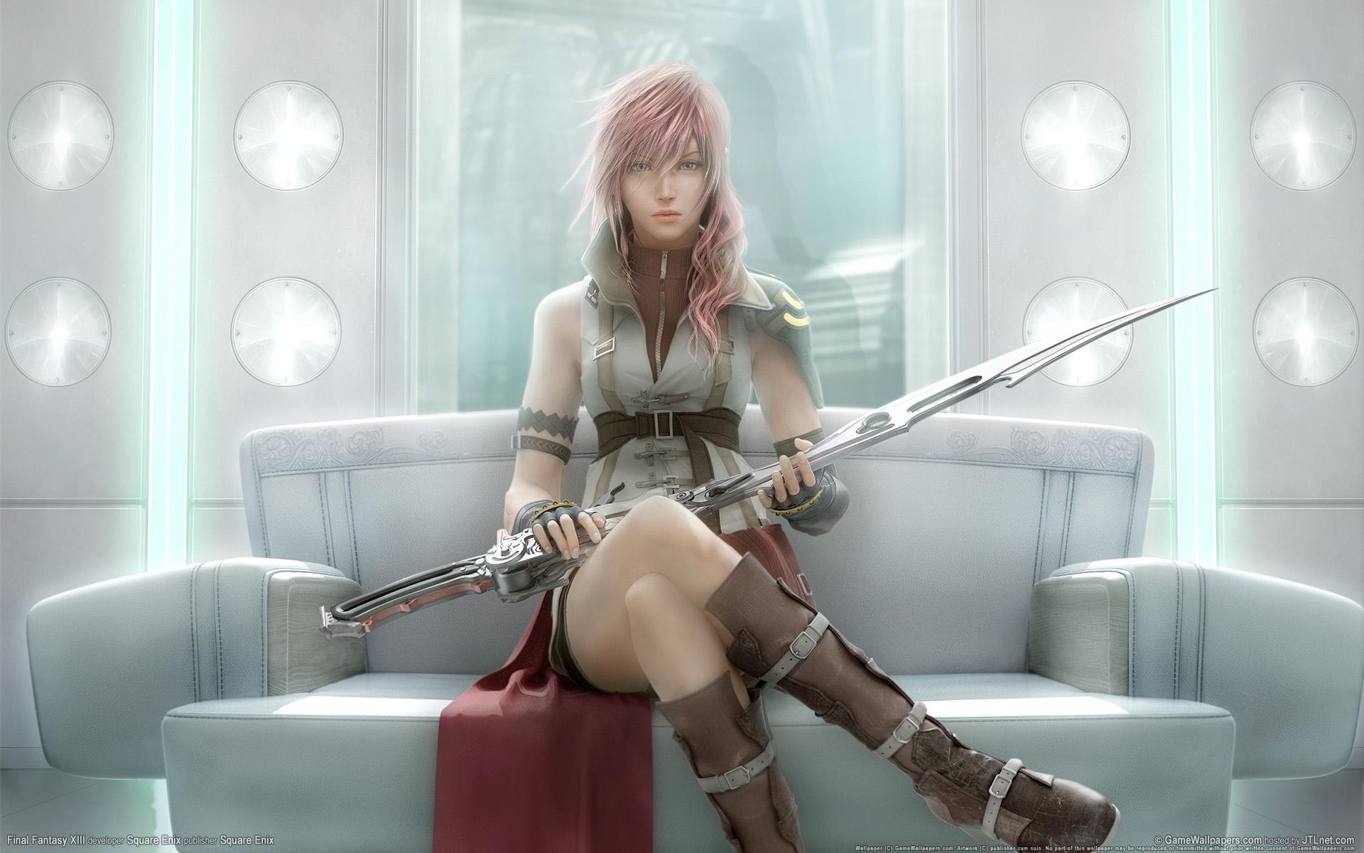Trilogia Final Fantasy XIII será lançada para PC!