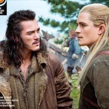 Bard e Legolas na primeira imagem de O Hobbit: Lá e de Volta Outra Vez