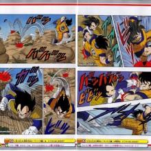 Veja algumas imagens da edição colorida do mangá de Dragon Ball Z