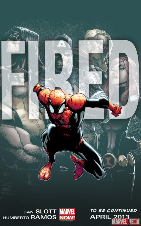 Homem Aranha Demitido