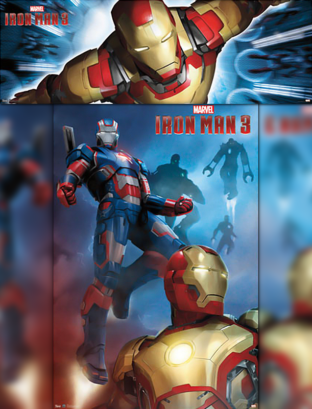 Homem de Ferro 3 Artwork 02
