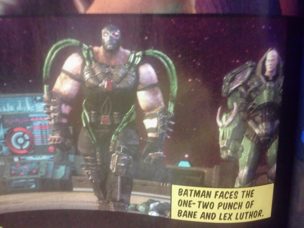 Injustice Bane Lex Luthor