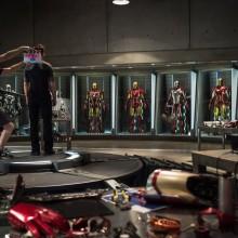 Nova arte de Homem de Ferro 3 mostra várias armaduras diferentes