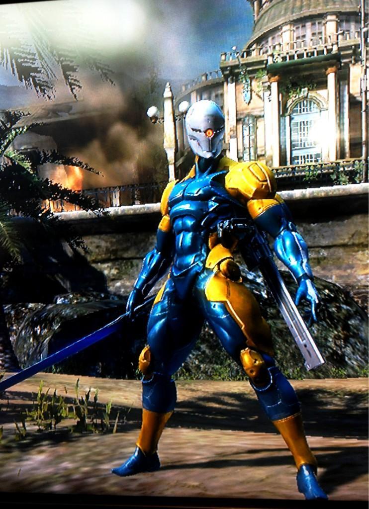 MGR Cyborg Ninja 01