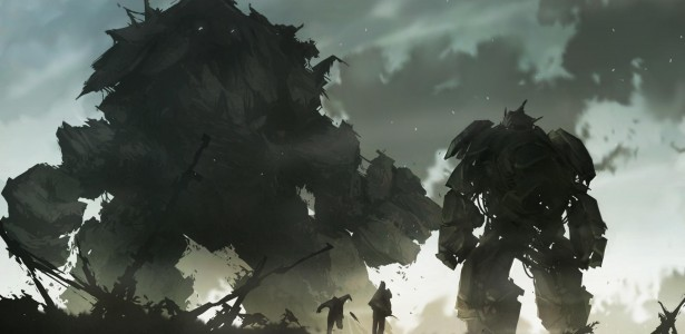 Shadow of the Colossus Artwork