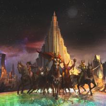Vamos ver umas artes conceituais do filme do Thor?