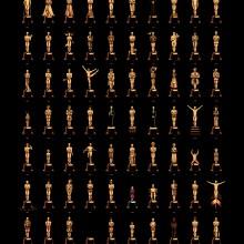 Todos os vencedores do Oscar em um poster só!