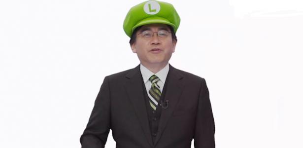 Satoru Iwata Luigi