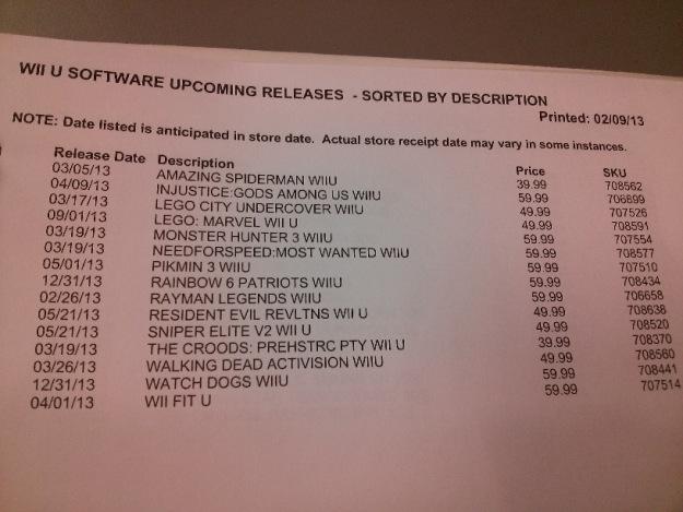 Wii U Lista Eb Games