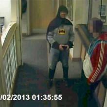 Batman da vida real prende bandido na Inglaterra
