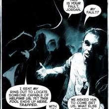 Geoff Johns ganha homenagem em Green Lantern #18