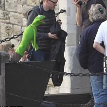 Novas fotos dos sets de Os Muppets 2 matarão a sua infância