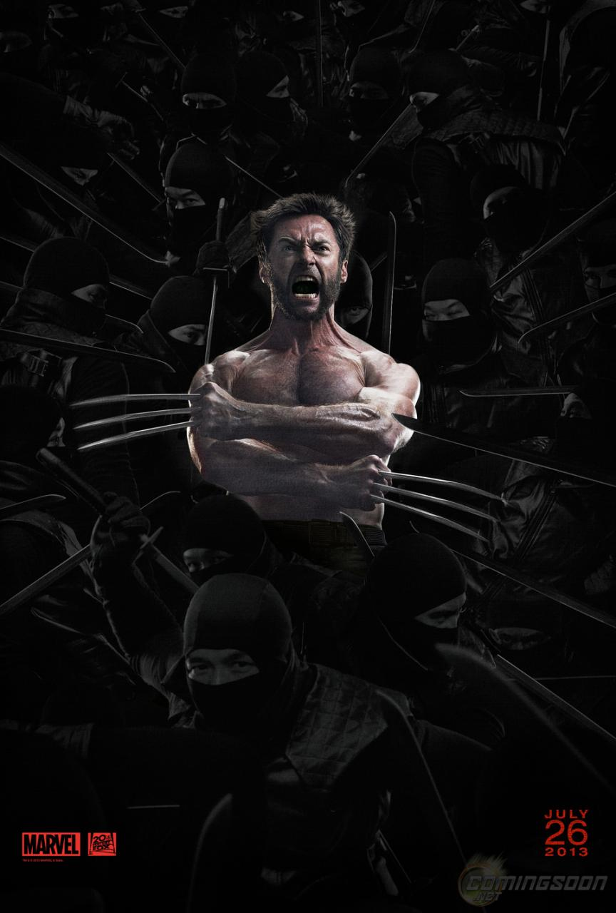 Wolverine Imortal Poster
