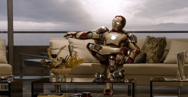 Iron Man 3 sofa
