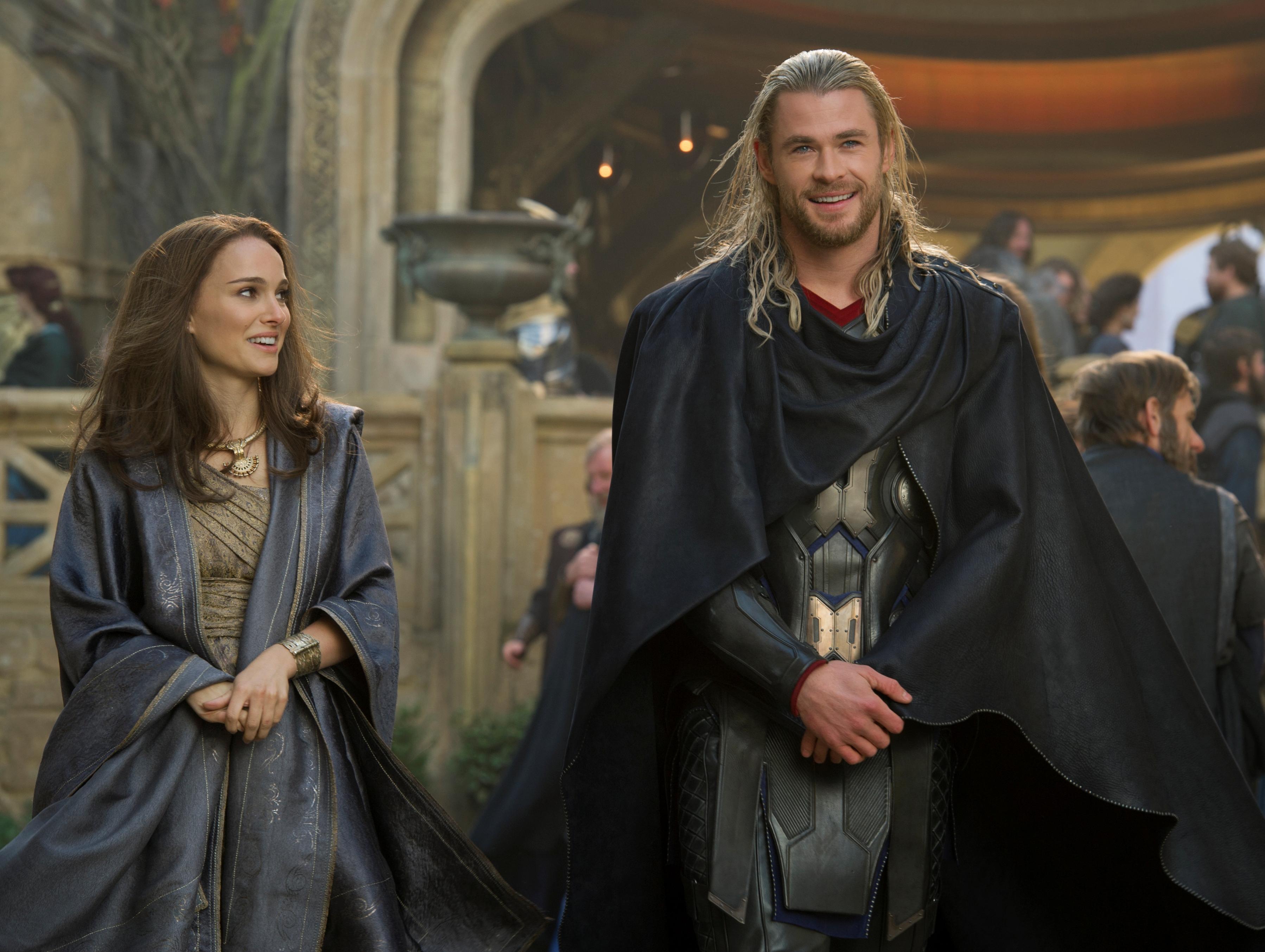 Thor 2 Natalie Portman Chris Hemsworth