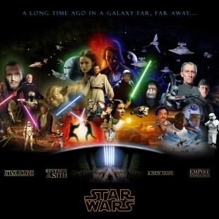 Todos os STAR WARS ao mesmo tempo!