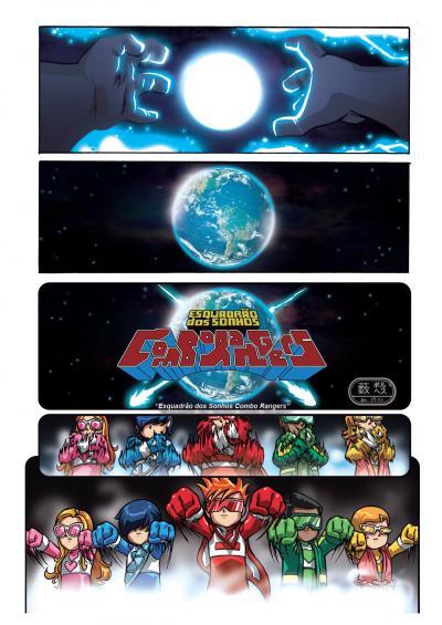 Combo Rangers Universe 01
