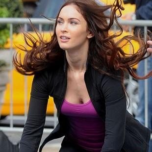 Mais imagens de Megan Fox nos sets de As Tartarugas Ninja