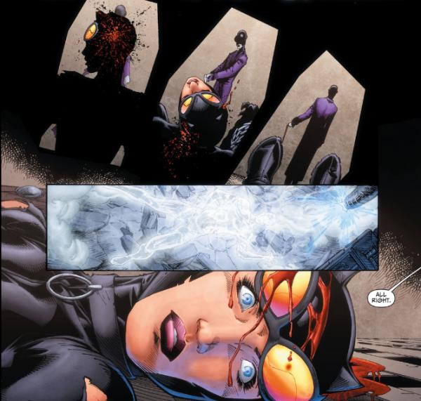 catwoman morta