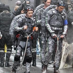 Mais fotos e vídeos dos sets de As Tartarugas Ninja